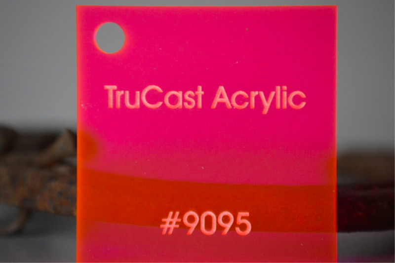 Fluorescent Acrylic Plexiglass Sheeting - A&C Plastics