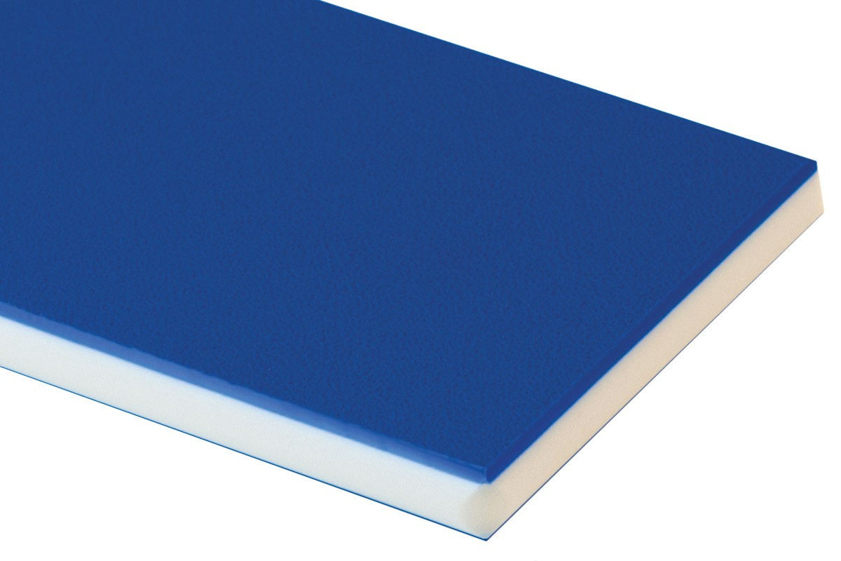BLUE/ .500/ 48X 96/ HDPE COLORCORE