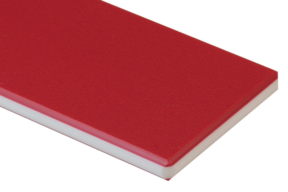 RED / .750/ 48X 96/ HDPE COLORCORE