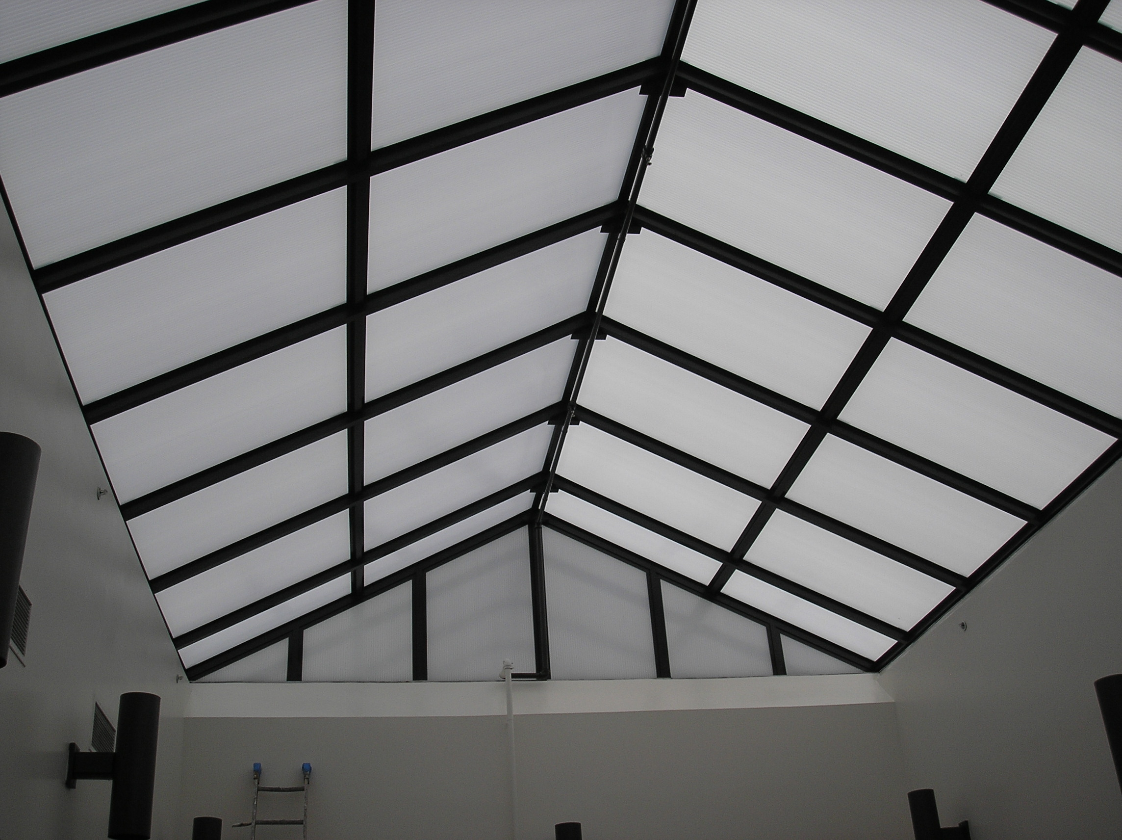 multiwall polycarbonate applications roofing
