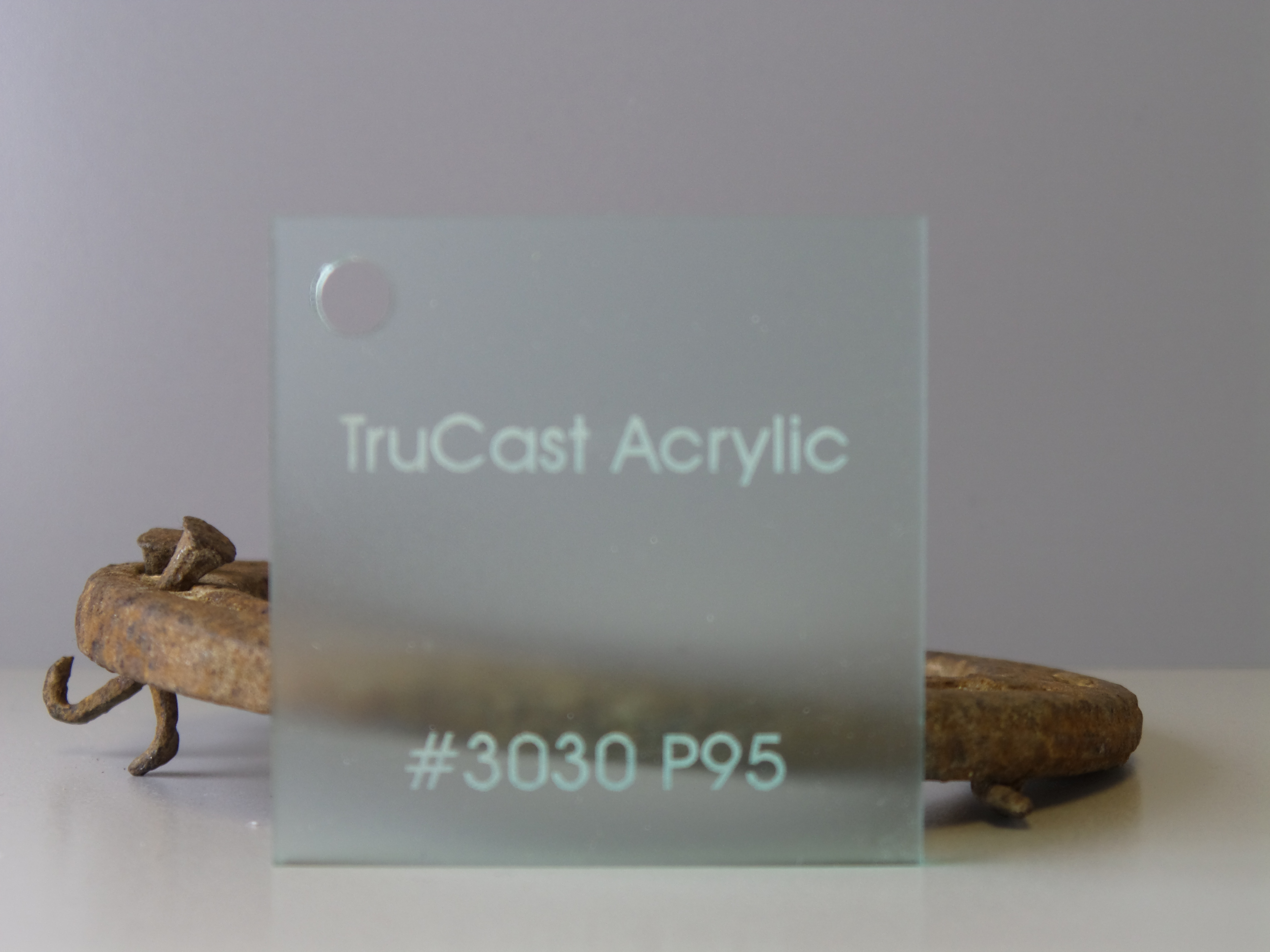 clear acrylic sheeting used for display artwork